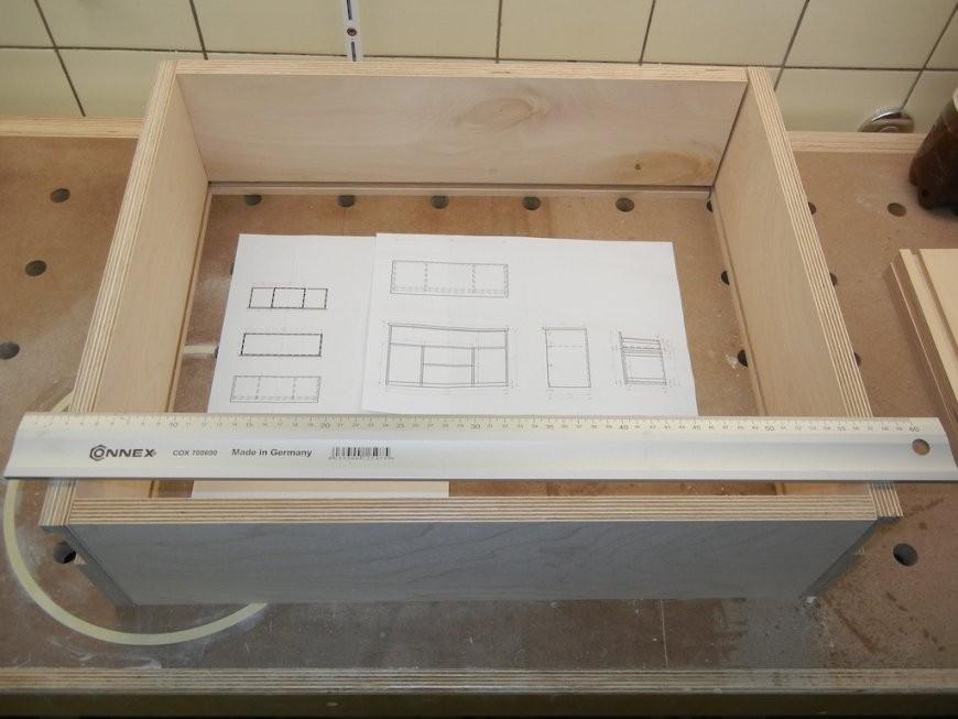 Schubladen Mit Rollauszügen Selbst Bauen  Hobbyholzwürmer von Bett Selber Bauen Mit Schubladen Photo