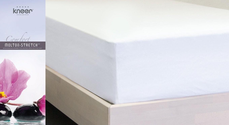 Schutz Für Matratze Und Topper  Moltonstretchspannbetttuch von Spannbettlaken Für Topper Und Matratze Bild
