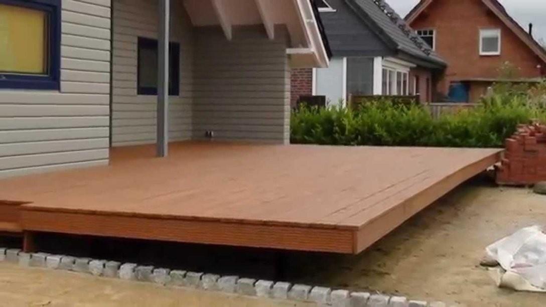 Schwebende Lärchen  Holzterrasse Selber Bauen  Ausführliche von Terrasse Selber Bauen Unterkonstruktion Photo