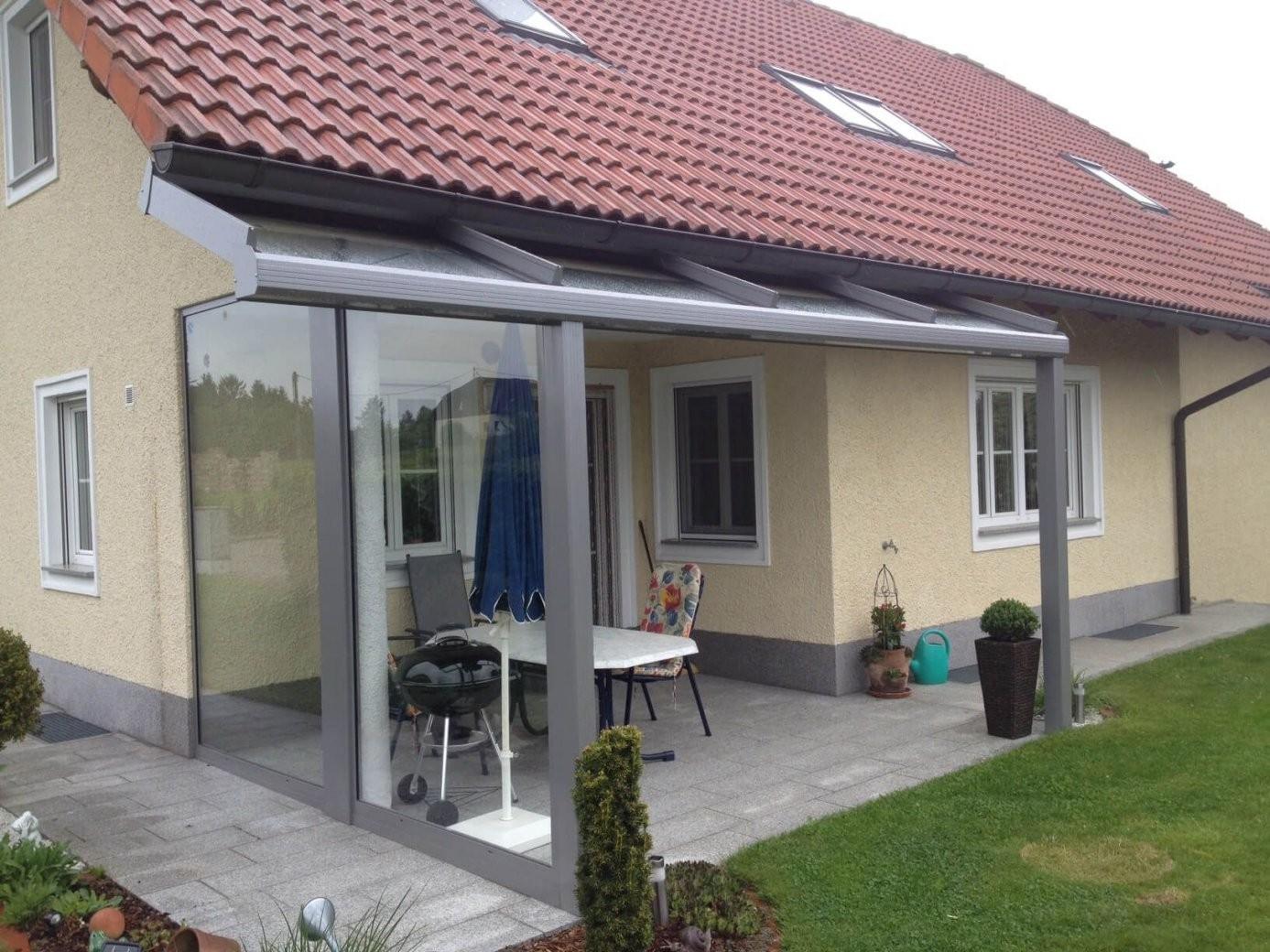 seitlicher windschutz mit berdachung f r terrasse balkon in 2018 von sonnenschutz. Black Bedroom Furniture Sets. Home Design Ideas