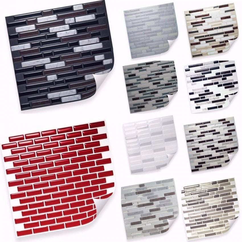 Selbstklebende Vinyl Mosaik 3D Fliesen Matten Zur Wandgestaltung von Mosaik Fliesen Selbstklebend Bild