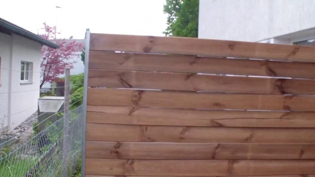 Sichtschutz Selber Bauen  Youtube von Terrassen Sichtschutz Selber Bauen Photo