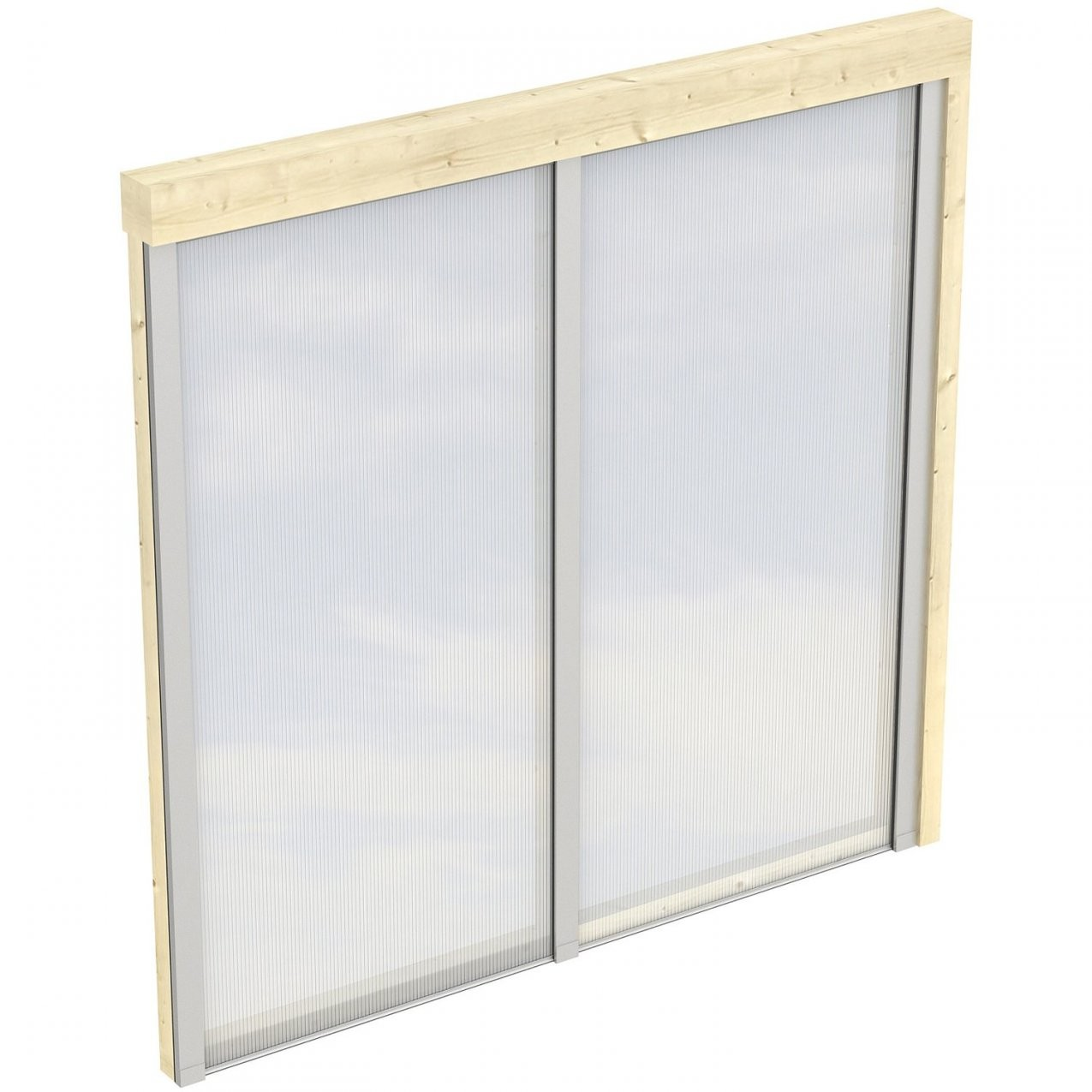 Skan Holz Polycarbonat Seitenwand Für Terrassenüberdachung 250239 von Seitenwand Für Terrassenüberdachung Selber Bauen Bild