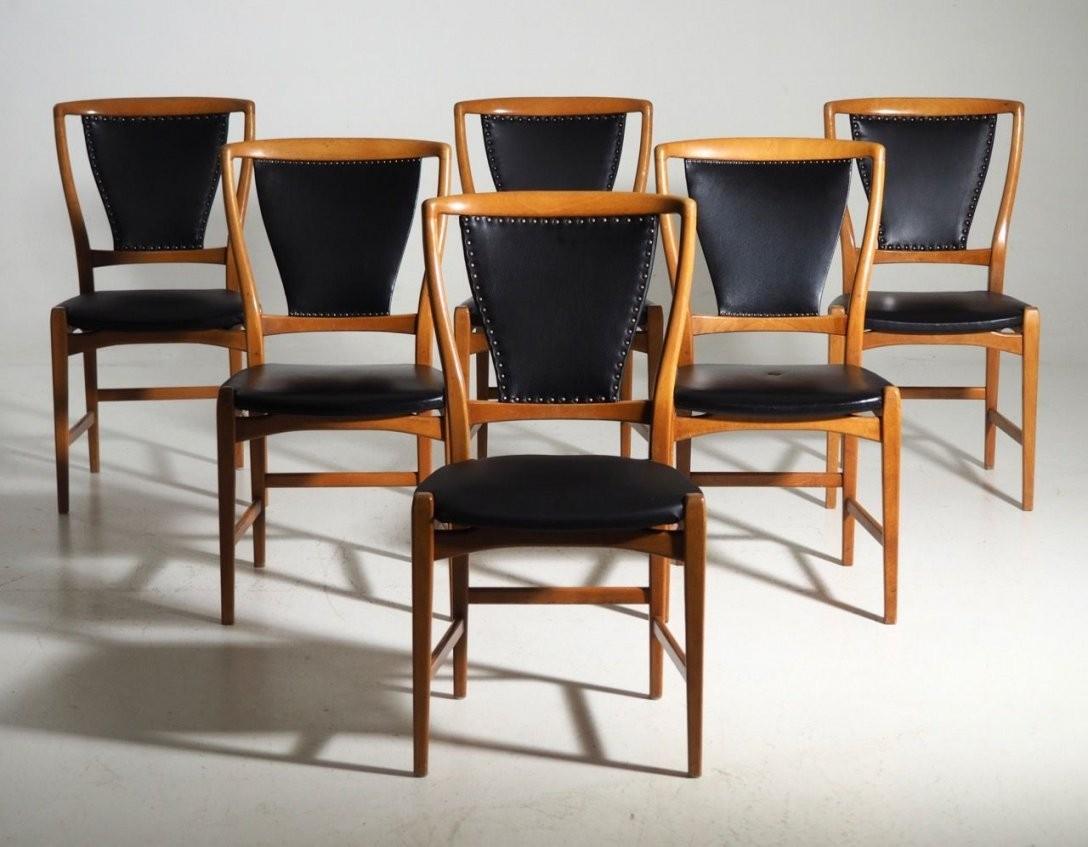 Skandinavische Esszimmerstühle Aus Obstbaumholz Inspiration Für von Skandinavische Esszimmerstühle Bild