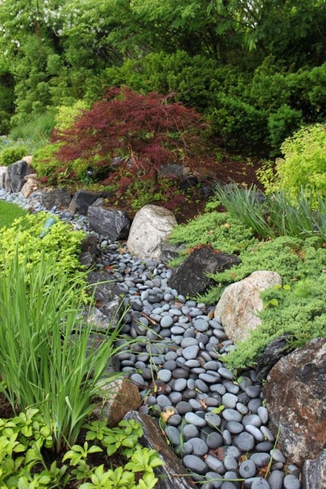 So Legt Man Einen Trockenbach Im Garten An Anleitung Tipps Und Ideen von Bepflanzung Japanischer Garten Photo