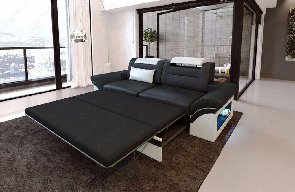 Sofa Monza Als 2 Sitzer Ist Ein Modernes Ledersofa von 2 Sitzer Sofa Mit Bettfunktion Bild