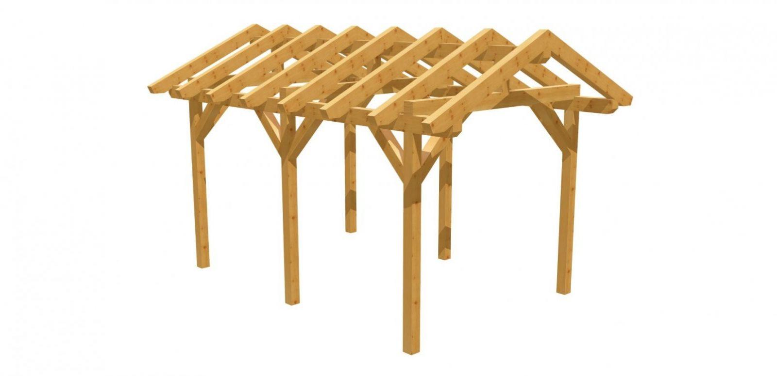 Sparen  Durch Selber Bauen  Holzbauplan von Terrassenüberdachung Selber Bauen Anleitung Photo
