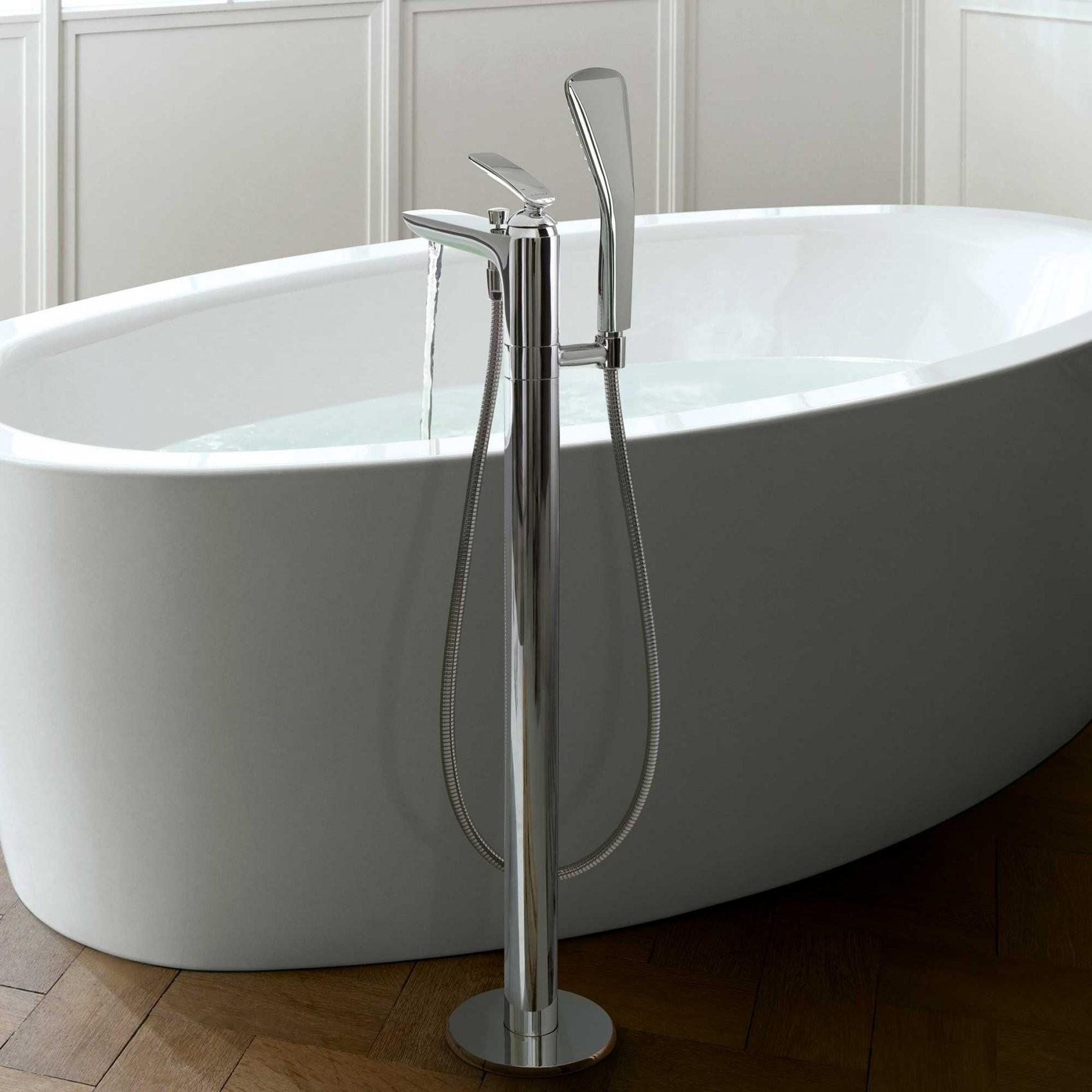 Standarmatur Für Wanne & Waschtisch Kaufen  Emero von Standarmatur Freistehende Badewanne Bild