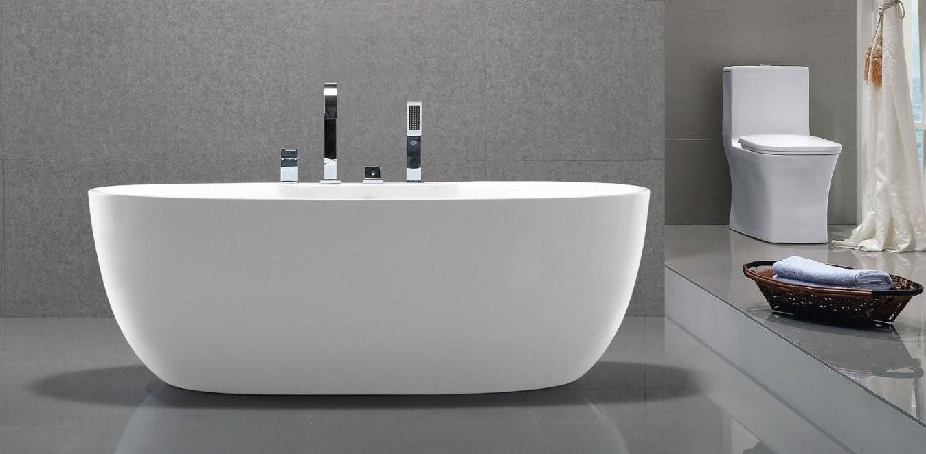 Standarmatur Modern Für Freistehende Badewanne  Haus Ideen von Armatur Für Freistehende Badewanne Bild