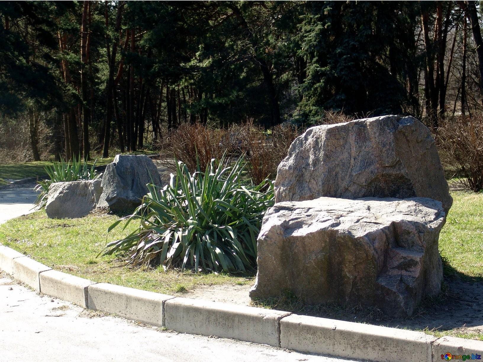 Steine Sind Große Steine Im Garten Berge № 1403 von Große Steine Garten Bild