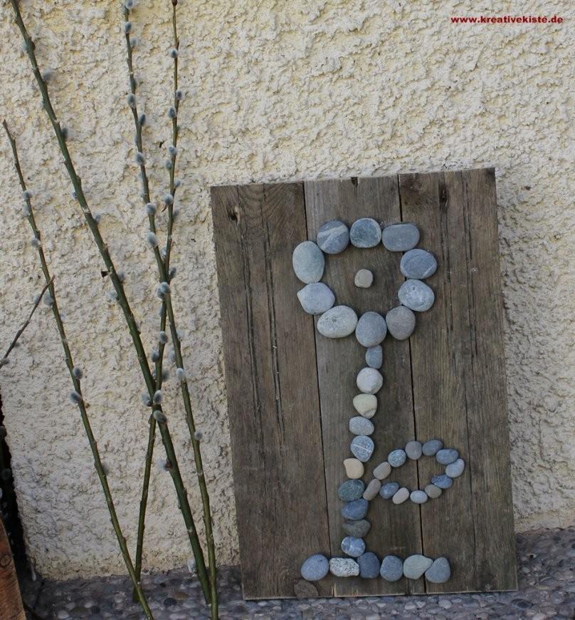 Steineblume von Steine Kleben Garten Bild