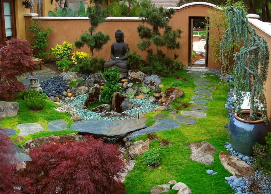 Steingarten 60 Ideen Japanischer Gartengestaltung Für Einen von Japanischer Garten Gestaltungsideen Photo