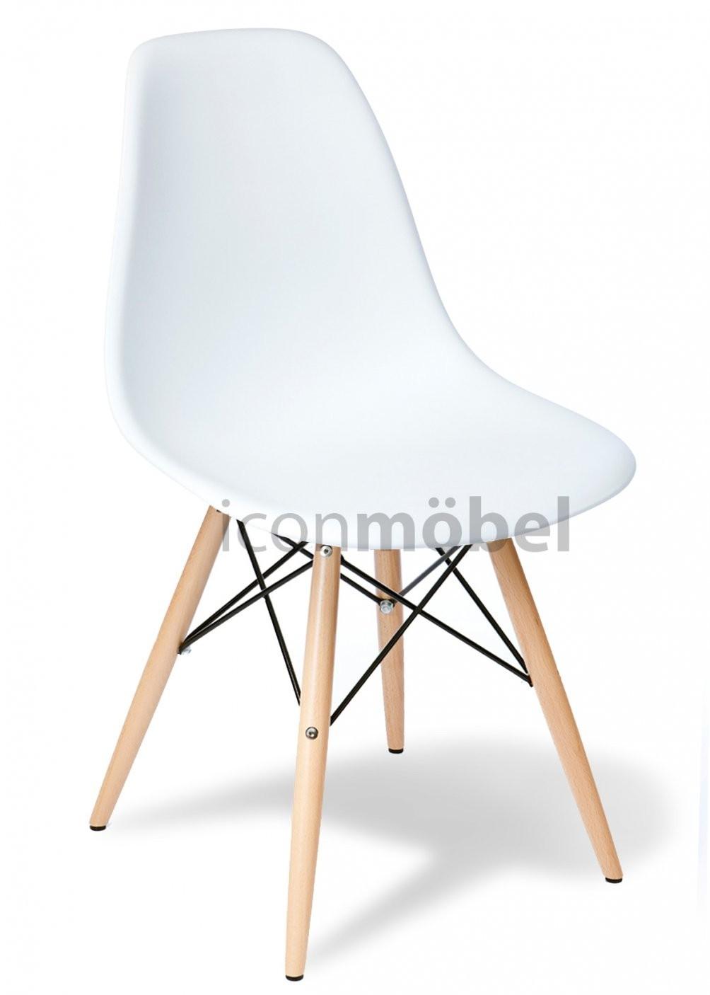 Stuhl Eames Dsw Style  Iconmöbel  Designermöbel Und Designerstühle von Stühle Skandinavischer Stil Bild