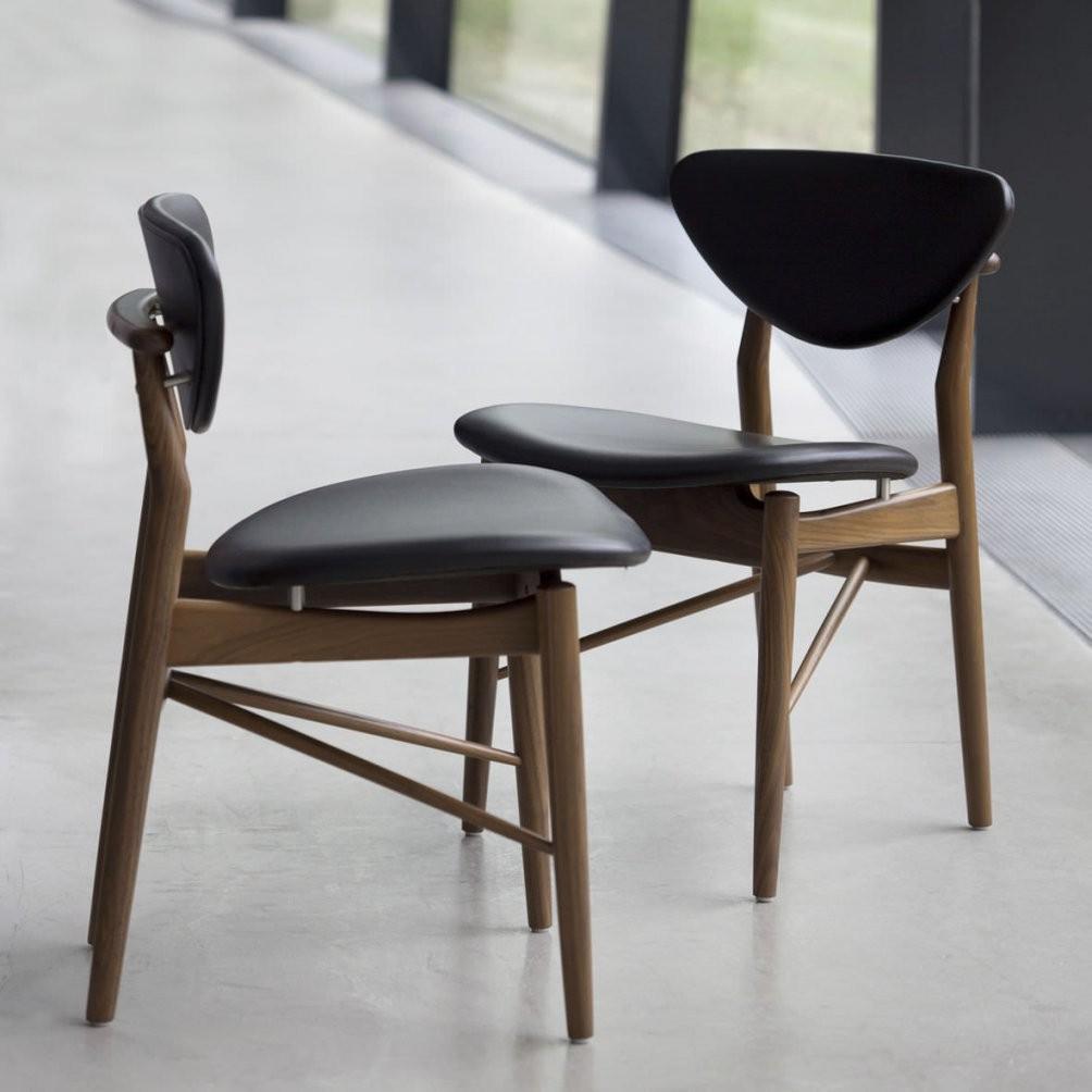 Stuhl  Skandinavisches Design  Polster  Stoff  Aus Eiche  108 von Stühle Skandinavisches Design Photo