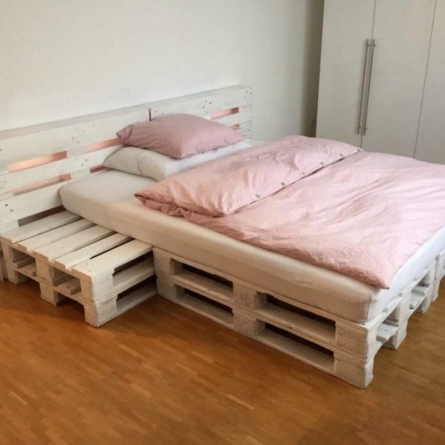 Stylist Inspiration Paletten Bett 140X200 Erstaunlich Auf von Bett Aus Europaletten 140X200 Anleitung Photo