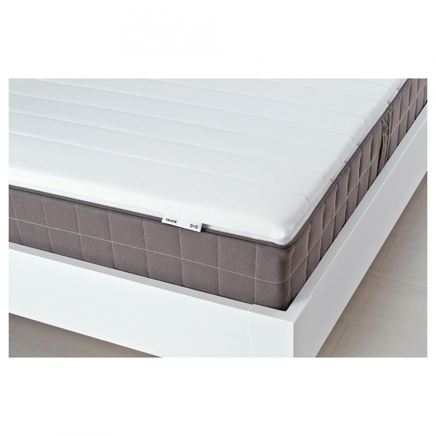 Talgje Dekmatras Wit 160 X 200 Cm  Ikea von Matratzen Topper 80X200 Bild