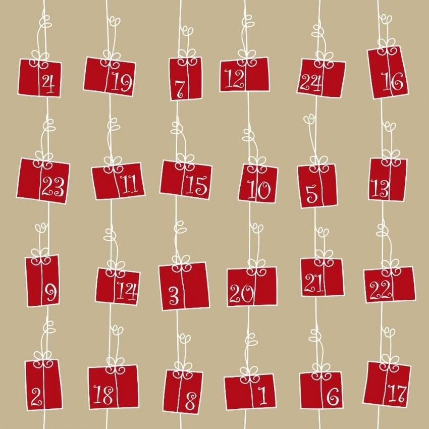 Tee Adventskalender  Ein Originelles Geschenk Für Ihre Liebsten von Adventskalender Tee Selber Machen Bild
