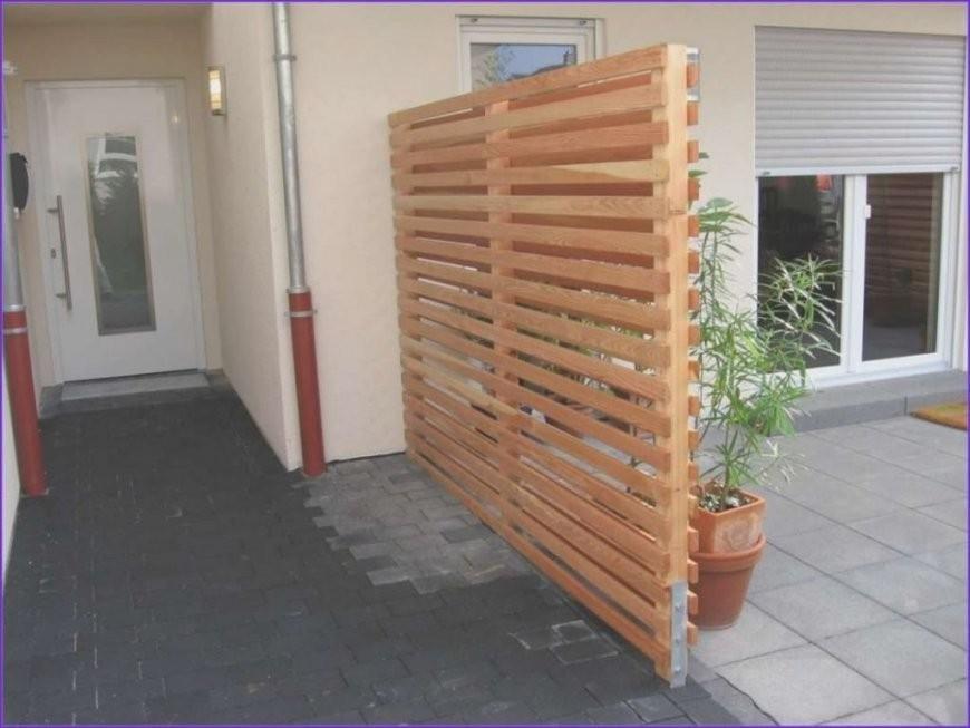 Windschutz Terrasse Selber Bauen Haus Bauen