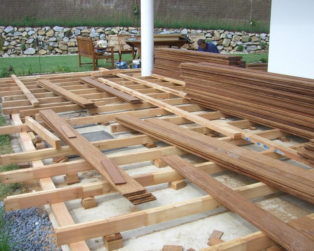 Terrasse Selber Bauen Unterkonstruktion Platten Wpc Holz Kosten Wpc von Terrasse Selber Bauen Unterkonstruktion Photo