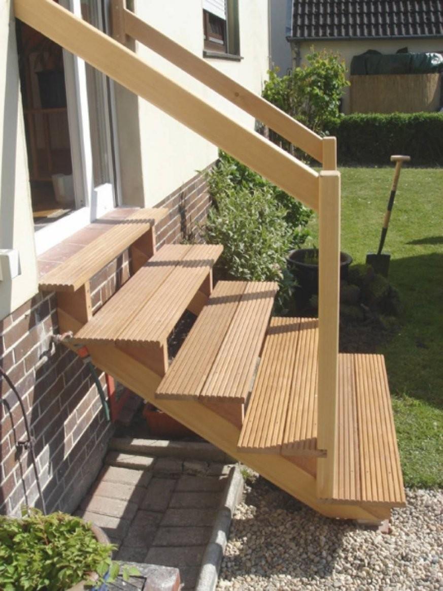 Terrasse Treppe Holz Selber Bauen – Wohndesign von Terrasse Treppe Selber Bauen Bild