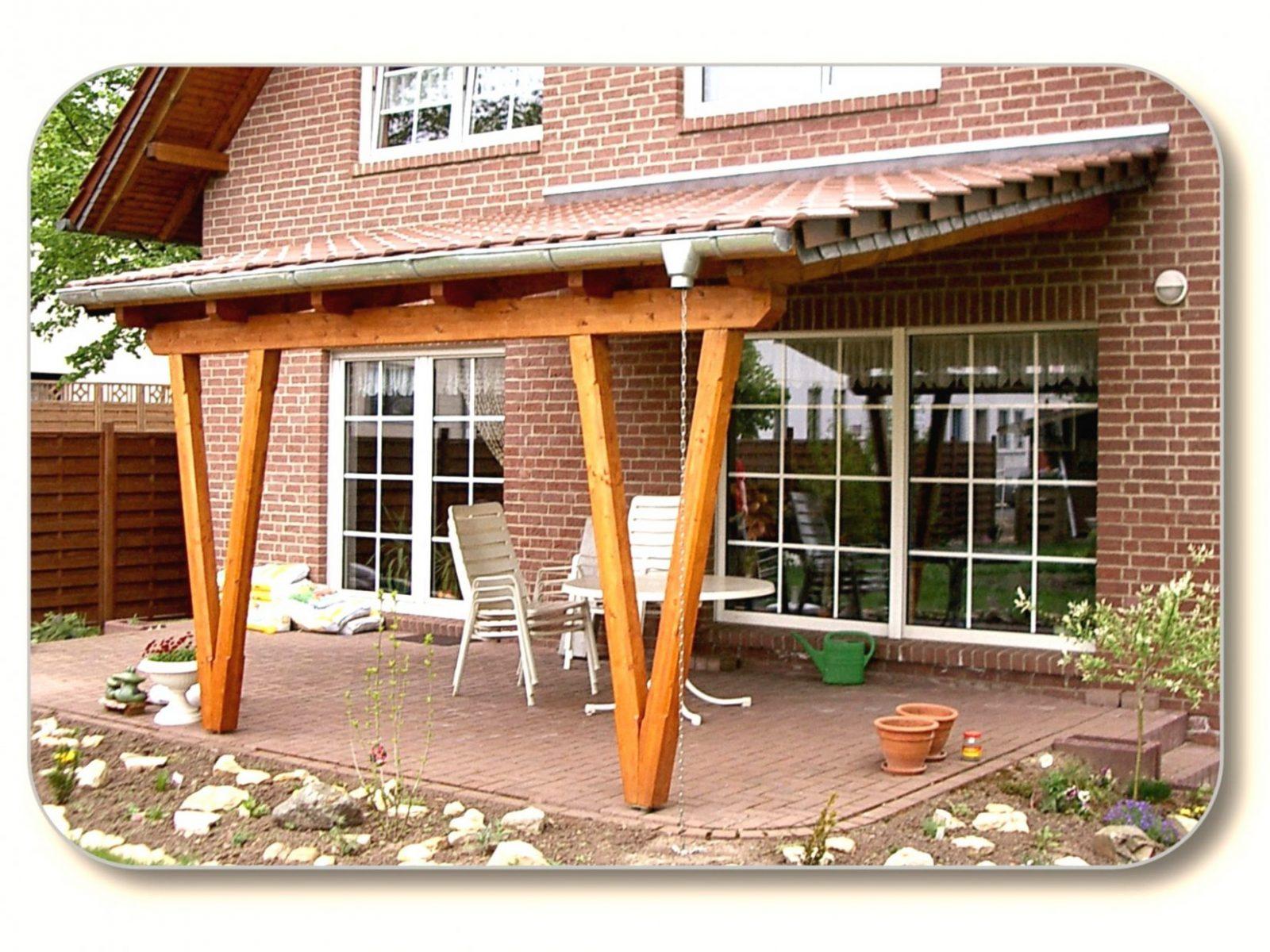 Terrassenuberdachung Aus Holz Selber Bauen Terrassenüberdachung Mit von Terrassenüberdachung Aus Holz Selber Bauen Bild