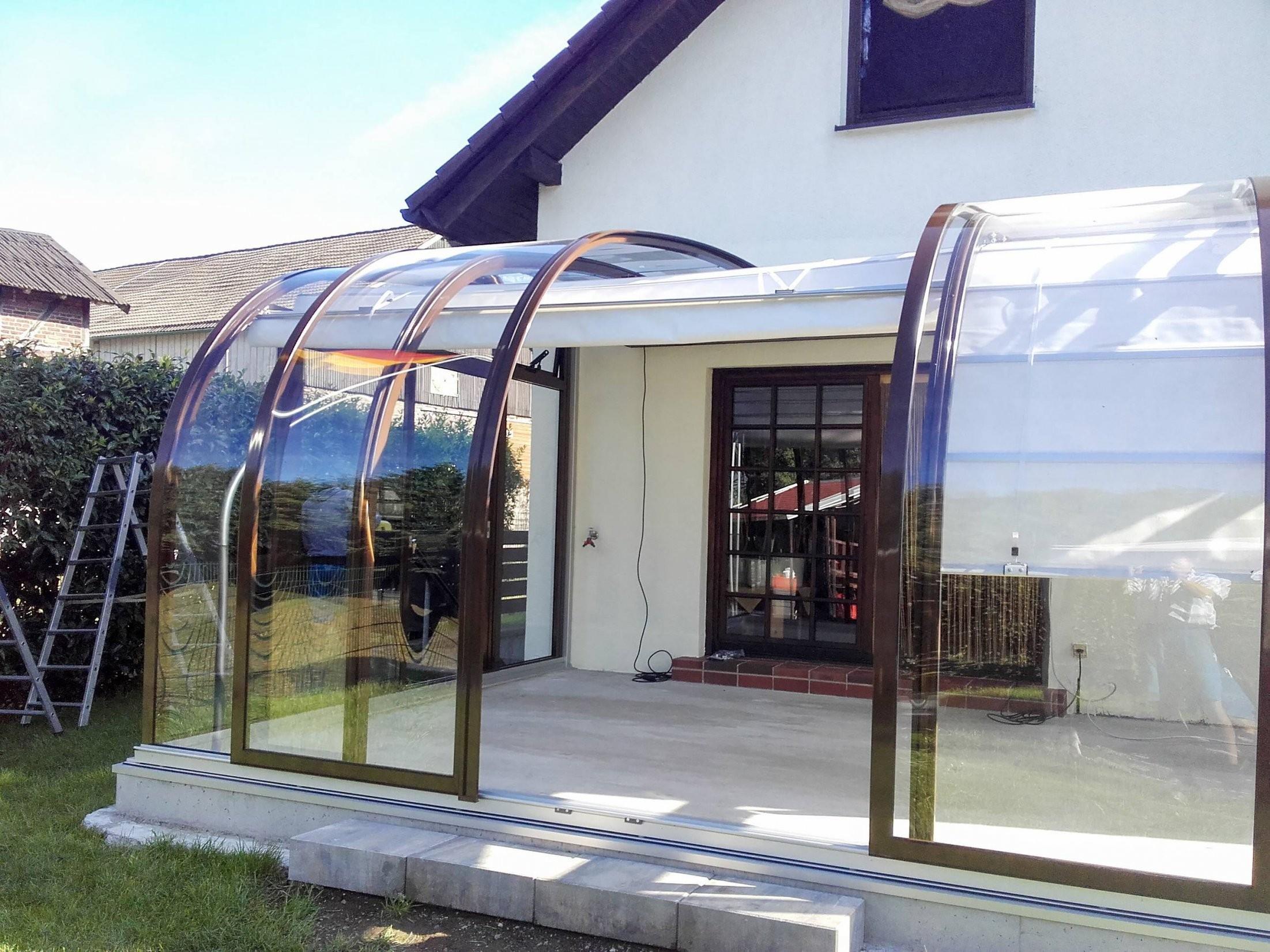 Terrassenüberdachung Selber Bauen Glas Innerhalb 35 Oberteil von Terrassenüberdachung Selber Bauen Glas Photo