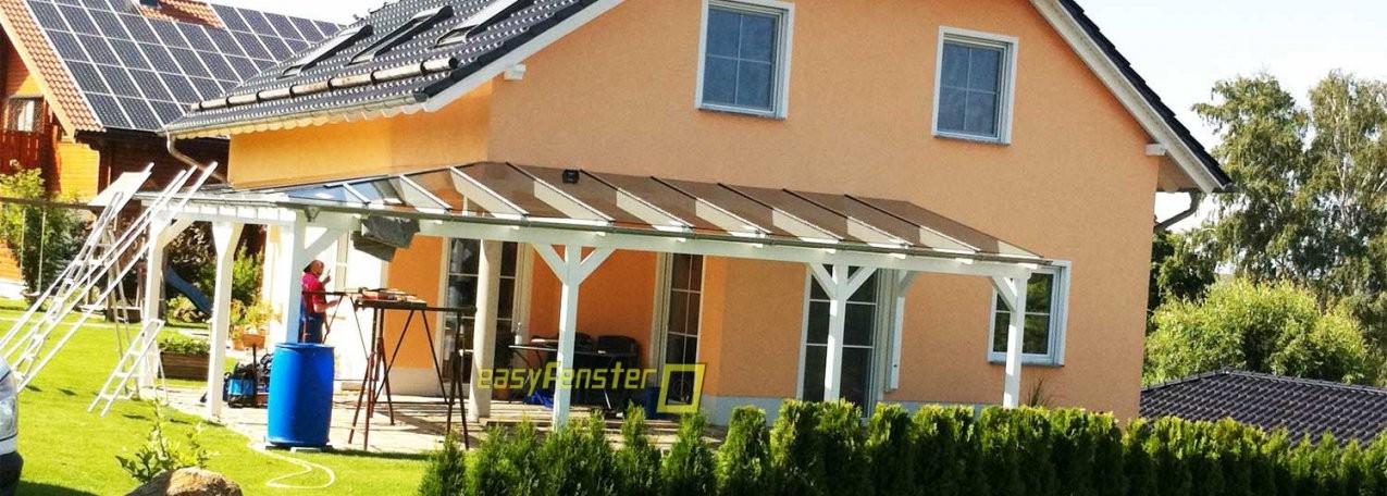 Terrassenüberdachung Selber Bauen Mit Glasdach von Terrassenüberdachung Glas Selber Bauen Photo