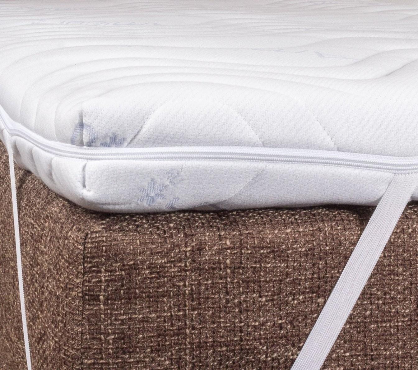 Topper In 200X200 Cm Für Breite Doppelbetten  Betten von Matratzen Topper 200X200 Bild