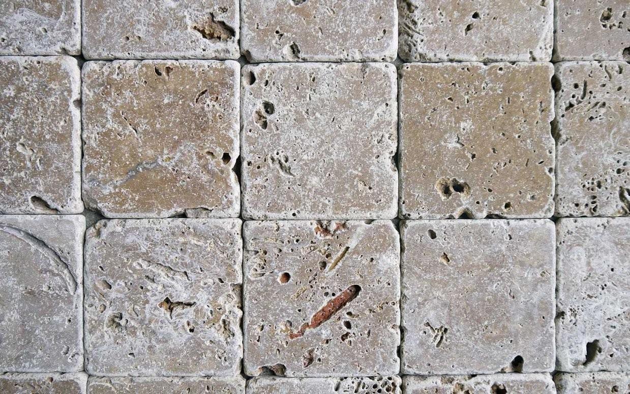 Travertin Naturstein Mosaik Fliesen Bad Wand Boden Kaufen von Mosaik Fliesen Außenbereich Photo