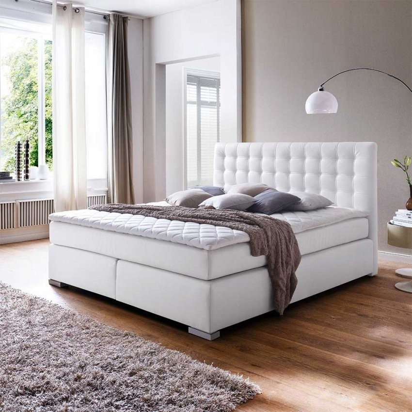 Trendige Lederbetten Günstig Im Angebot  Wohnen von Weißes Bett 160X200 Bild
