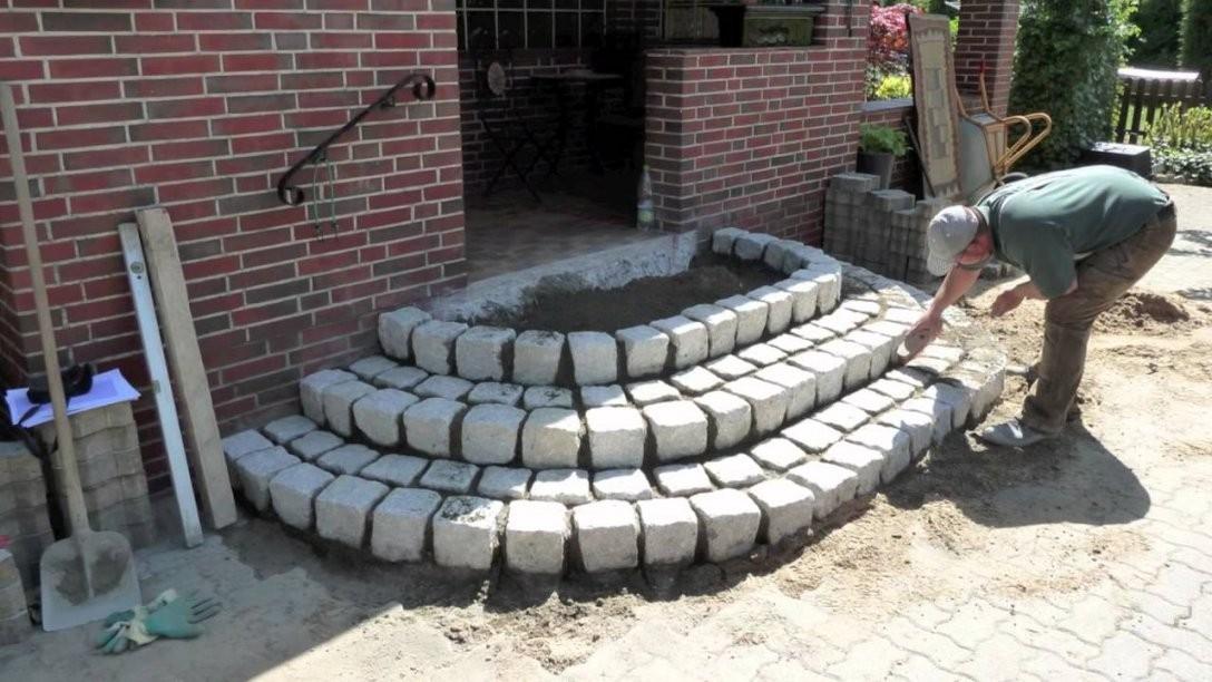 Treppe Aus Granitsteinemov  Youtube von Terrasse Treppe Selber Bauen Photo