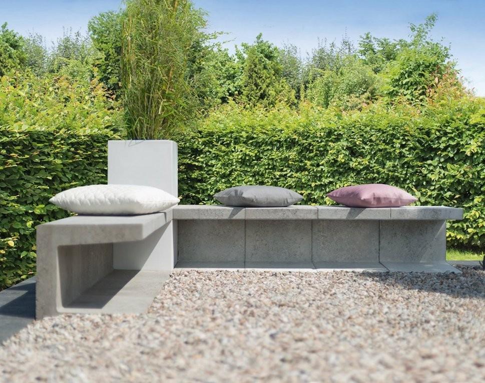 U Steine Gartenbank – Wohndesign von U Steine Garten Photo