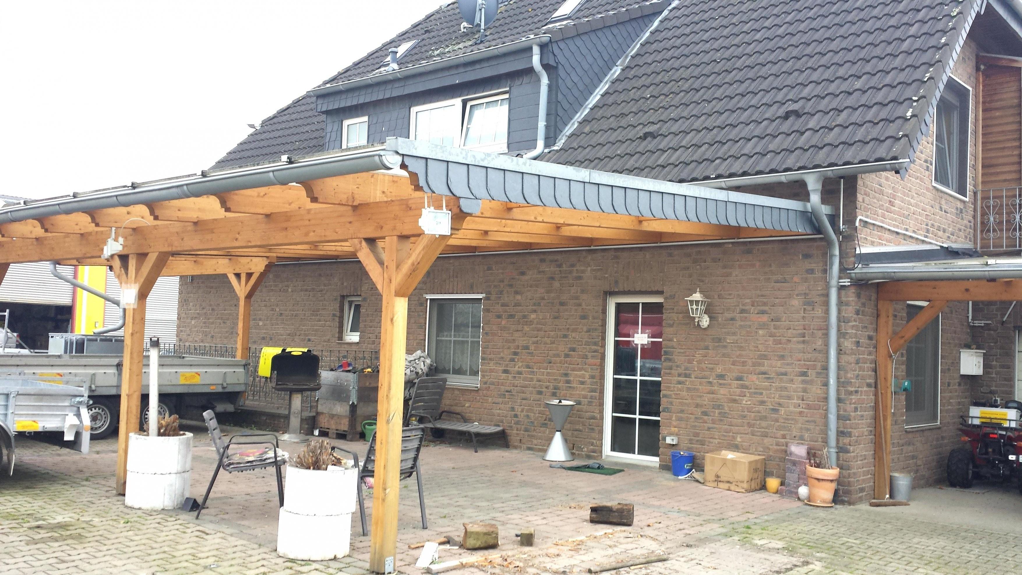 Uberdachung Hauseingang Vordach A Ber Aus Stahl Und Glas Selber Bauen von Vordach Terrasse Selber Bauen Photo