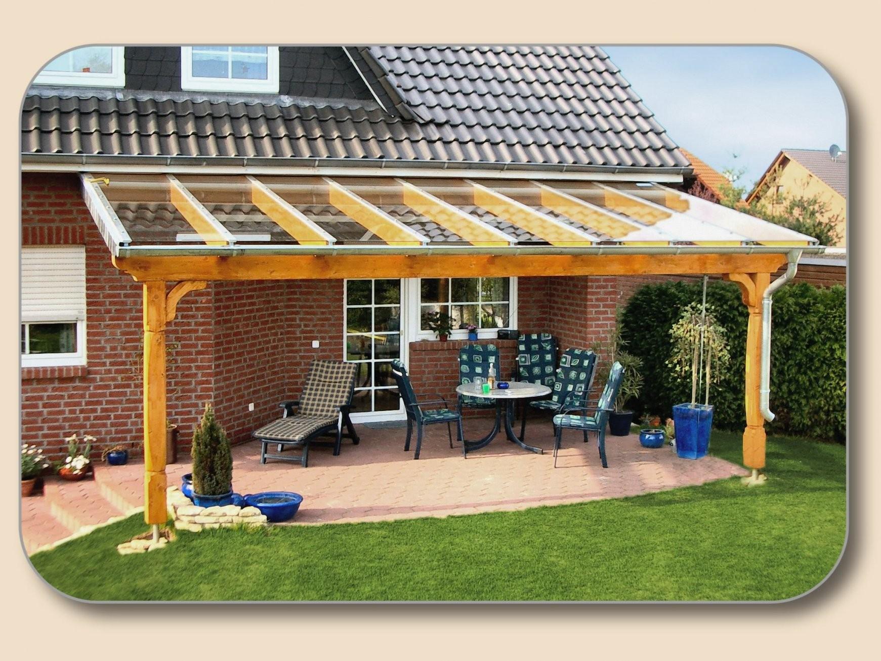 Überdachung Holz Und Glas Bausatz Preise – Hersteller Holzon von Terrassenüberdachung Selber Bauen Video Bild