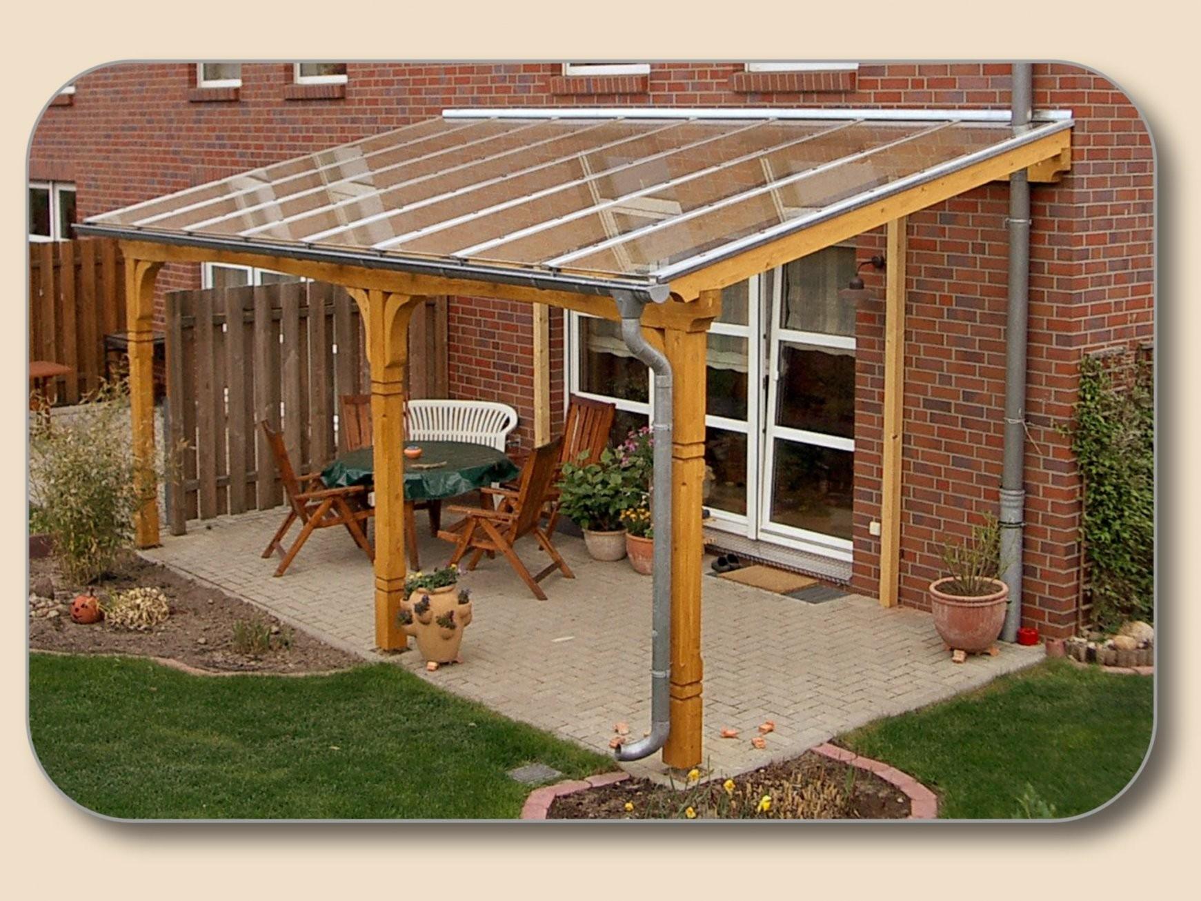 Überdachung Selber Bauen Berdachung Selber Bauen Mit Bauplan Von von Vordach Terrasse Selber Bauen Photo