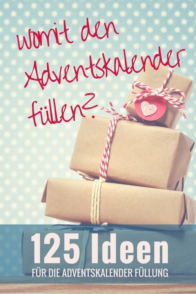 Ultimative Liste Mit Über 125 Ideen Um Einen Advenstkalender Zu Befüllen von Adventskalender Für Freund Selber Machen Photo