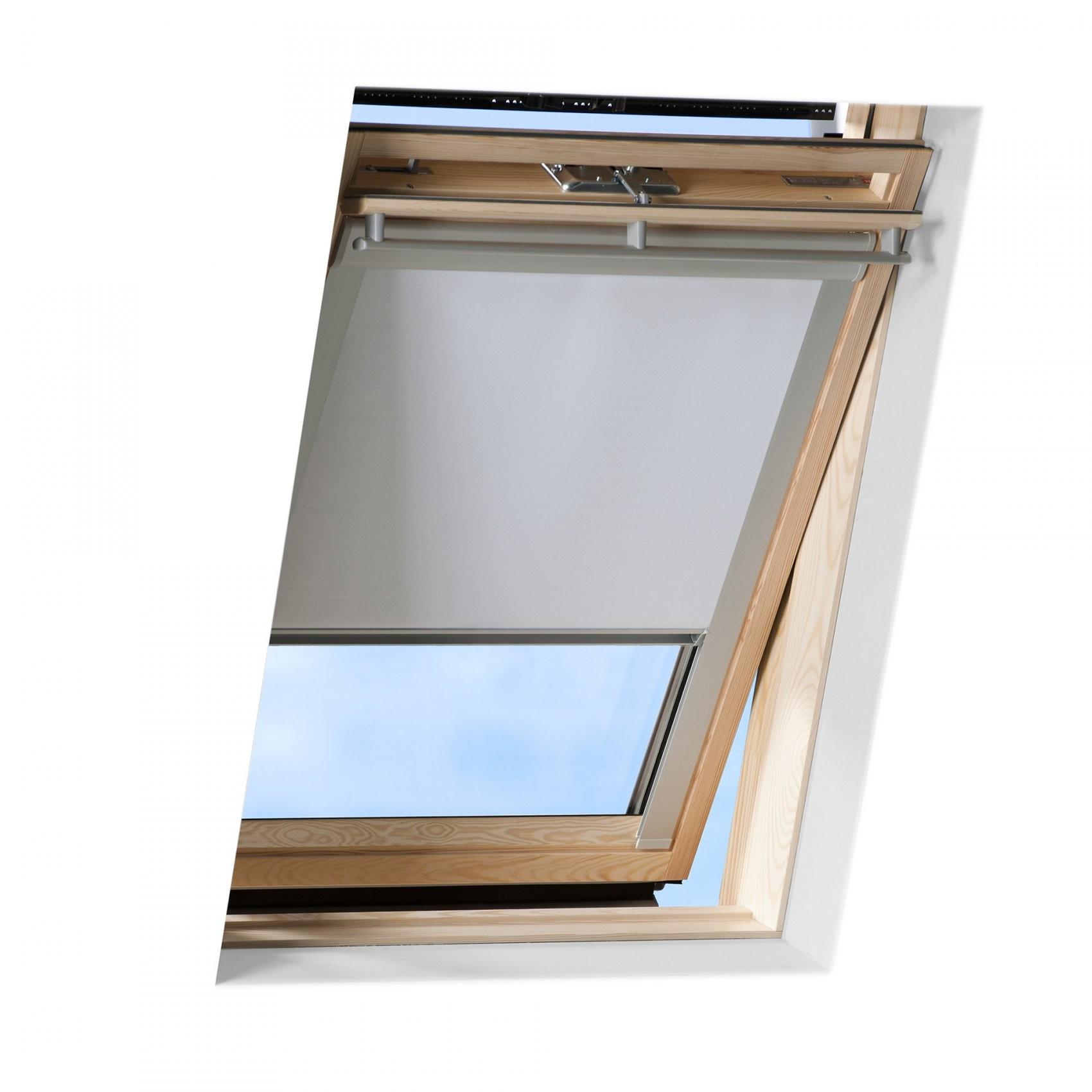 Verdunkelungsrollo Passend Für Velux Dachfenster Thermo Rollo Von von Rollos Für Velux Fenster Bild