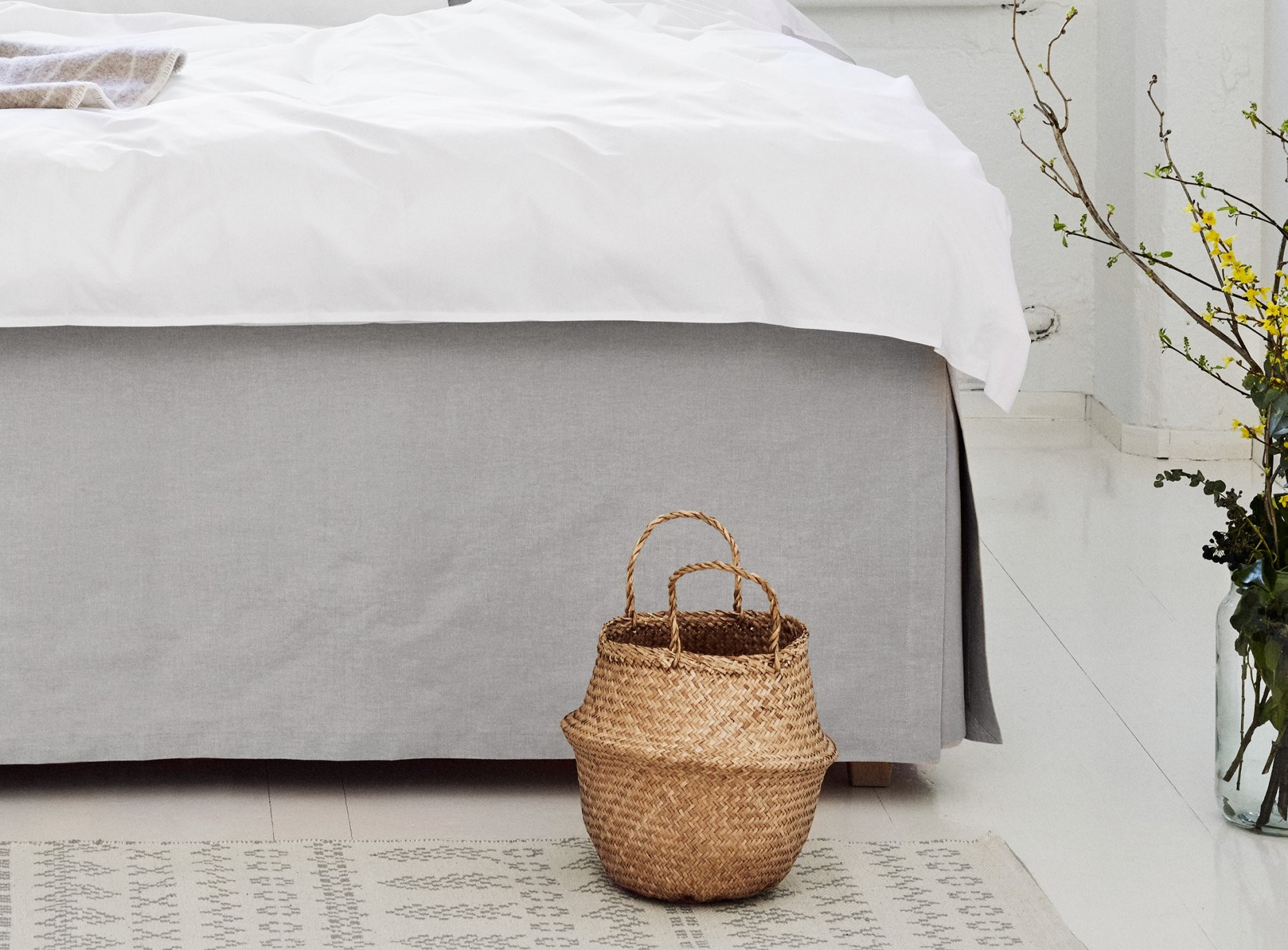 Verschiedene Skirtings Für Ihr Boxspringbett  Fennobed von Betthusse Boxspring Bett Bild