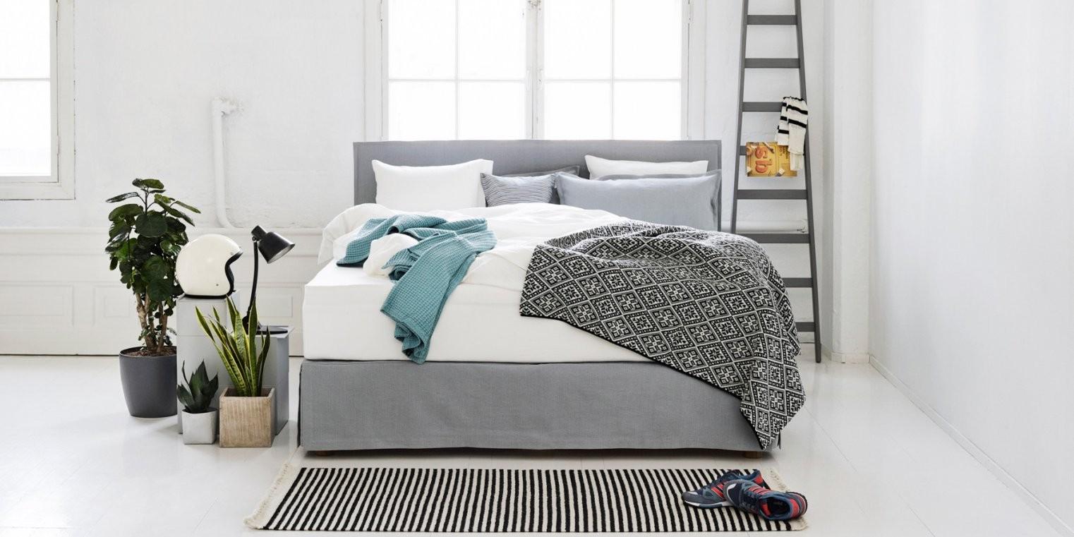 Verschiedene Skirtings Für Ihr Boxspringbett  Fennobed von Betthusse Boxspring Bett Photo