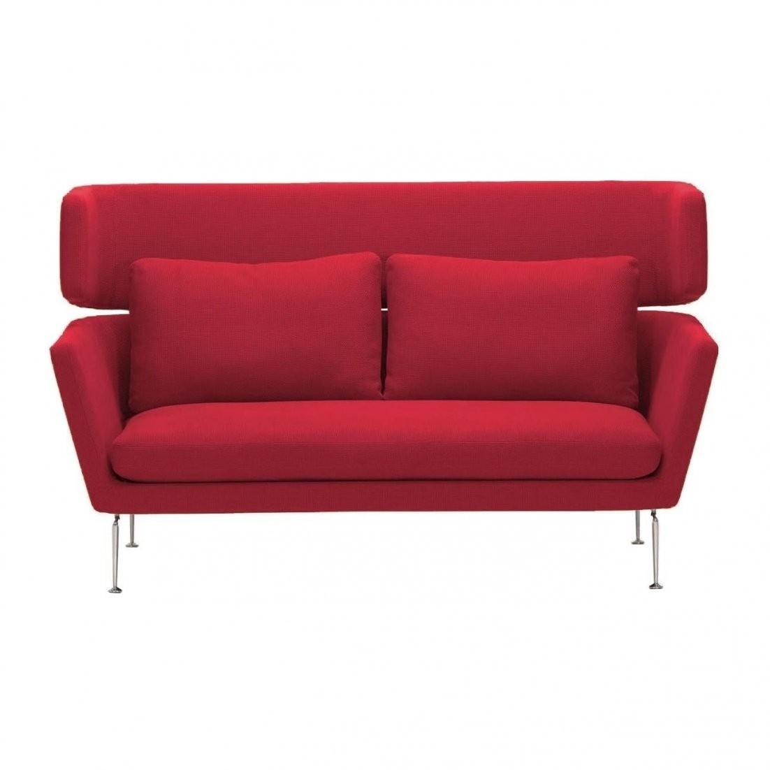 Vitra Suita Citterio 2Sitzer Sofa  Ambientedirect von 2 Sitzer Sofa Rot Bild