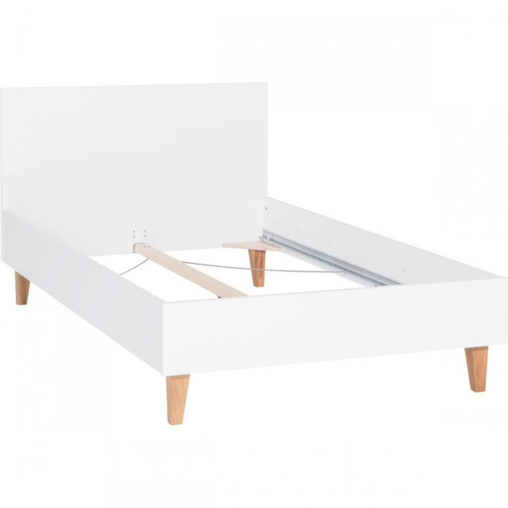 Vox Concept Bettgestell 120X200 Cm White Zum Toppreis von Bett 120X200 Guenstig Photo