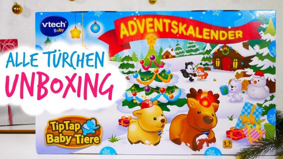 Vtech Adventskalender 2016 Unboxing  Alle 24 Türchen  Youtube von Baby Adventskalender Selber Machen Bild
