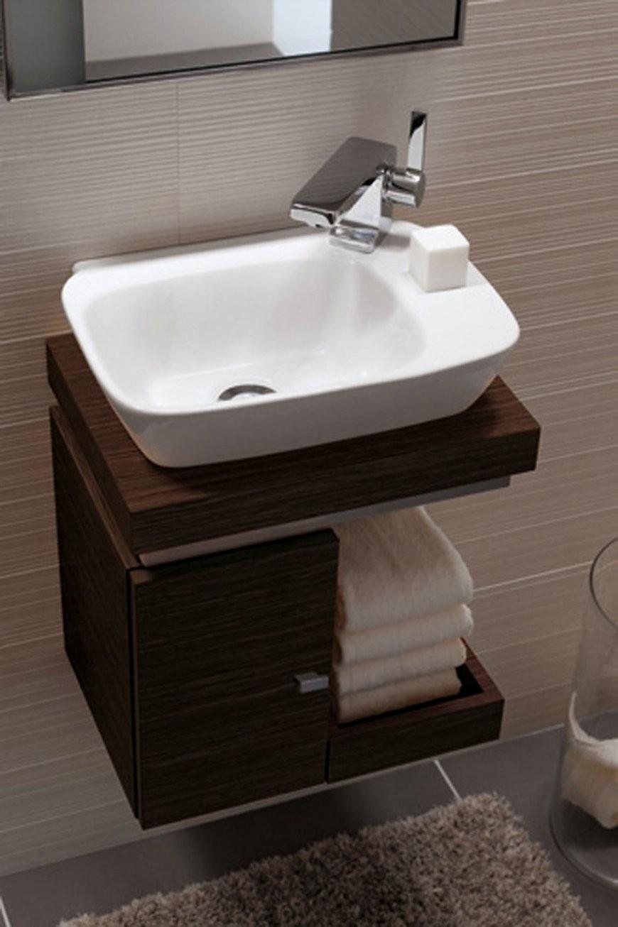 Waschbecken Kleines Gaeste Wc Haus Bauen