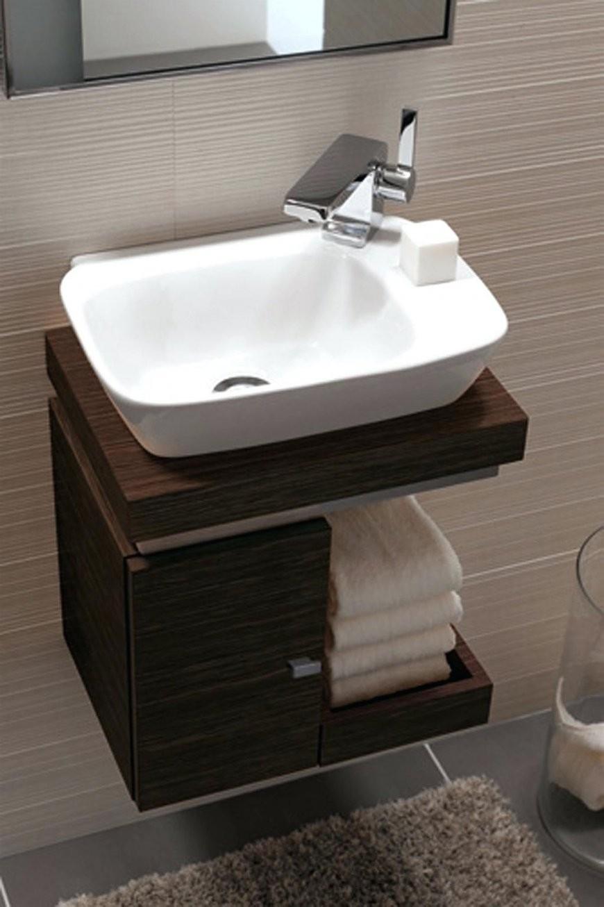Waschbecken Klein Mit Unterschrank  Amuda von Waschbecken Klein Mit Unterschrank Bild