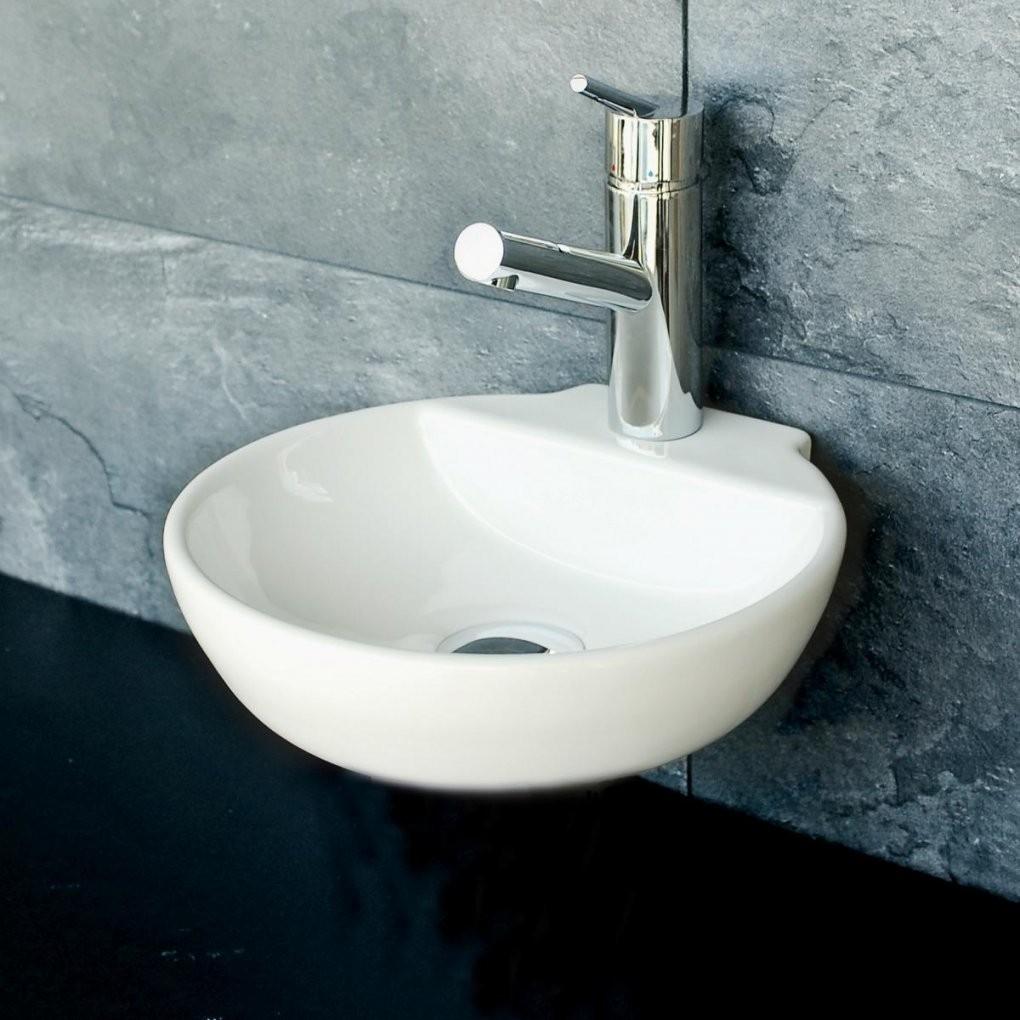 Waschbecken Kleines Gaeste Wc Lux Aqua G Ste Wc Kleines Waschbecken von Kleine Runde Waschbecken Bild