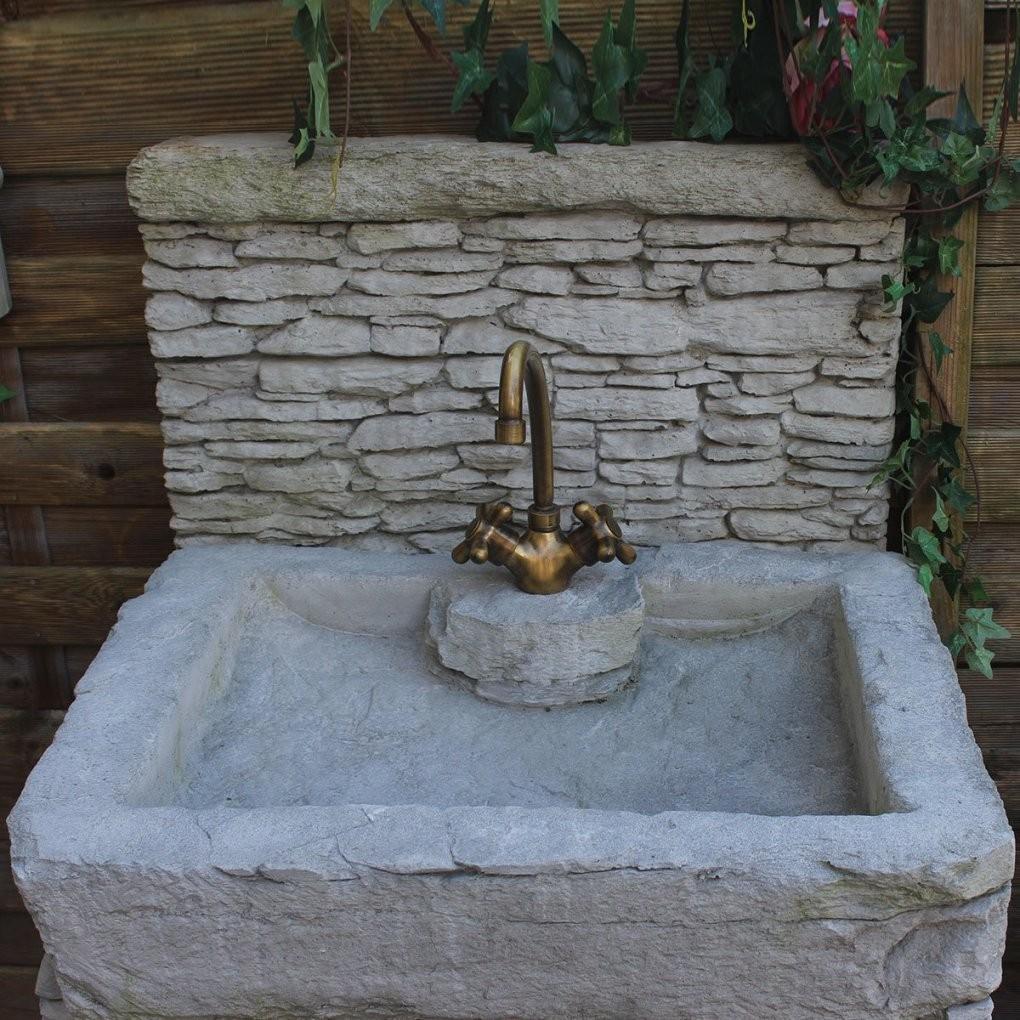 Waschbecken Stein Garten Mischungsverh Ltnis Zement von Garten Waschbecken Stein Photo