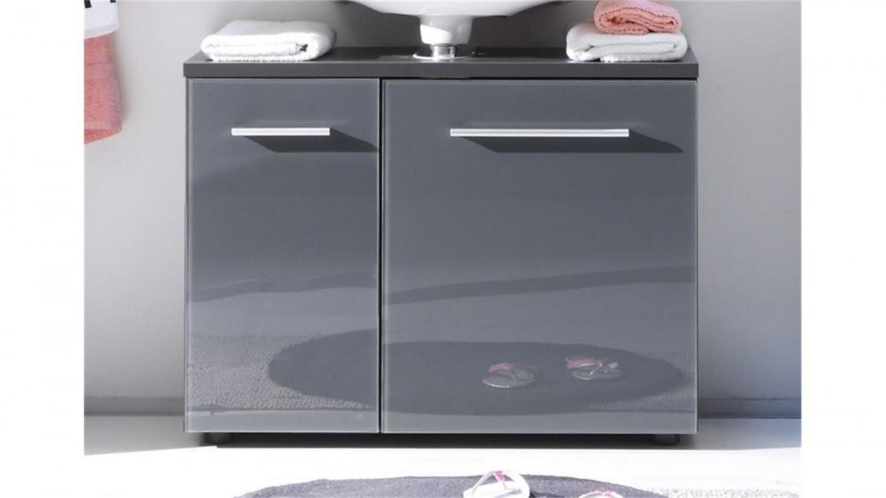 Waschbeckenunterschrank Grey Badezimmer Grau Ohne Becken von Bad Unterschrank Ohne Waschbecken Bild