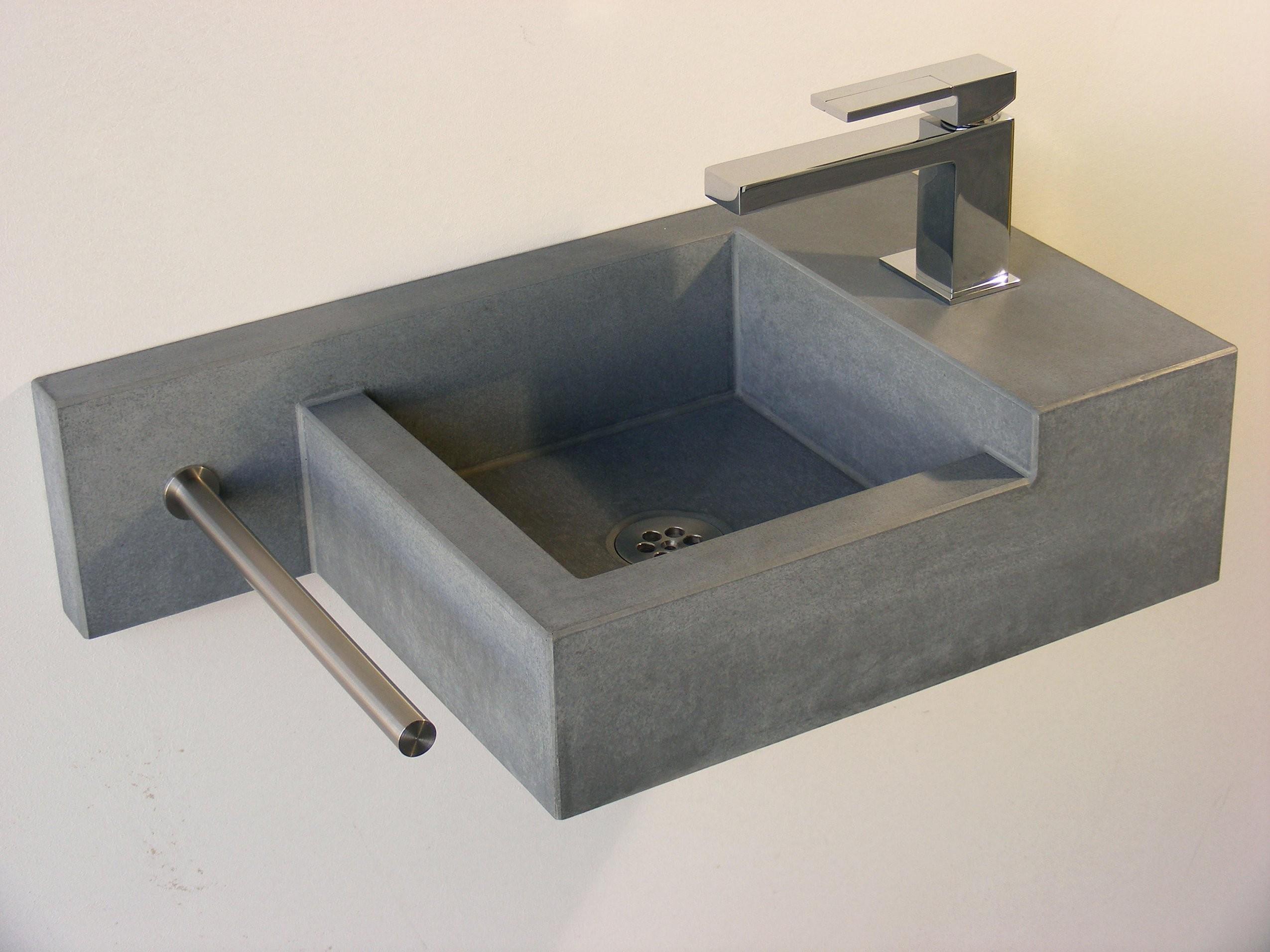Waschtisch Mit Klein Best Wc Waschbecken With Waschtisch Mit Klein von Waschbecken Klein Eckig Bild