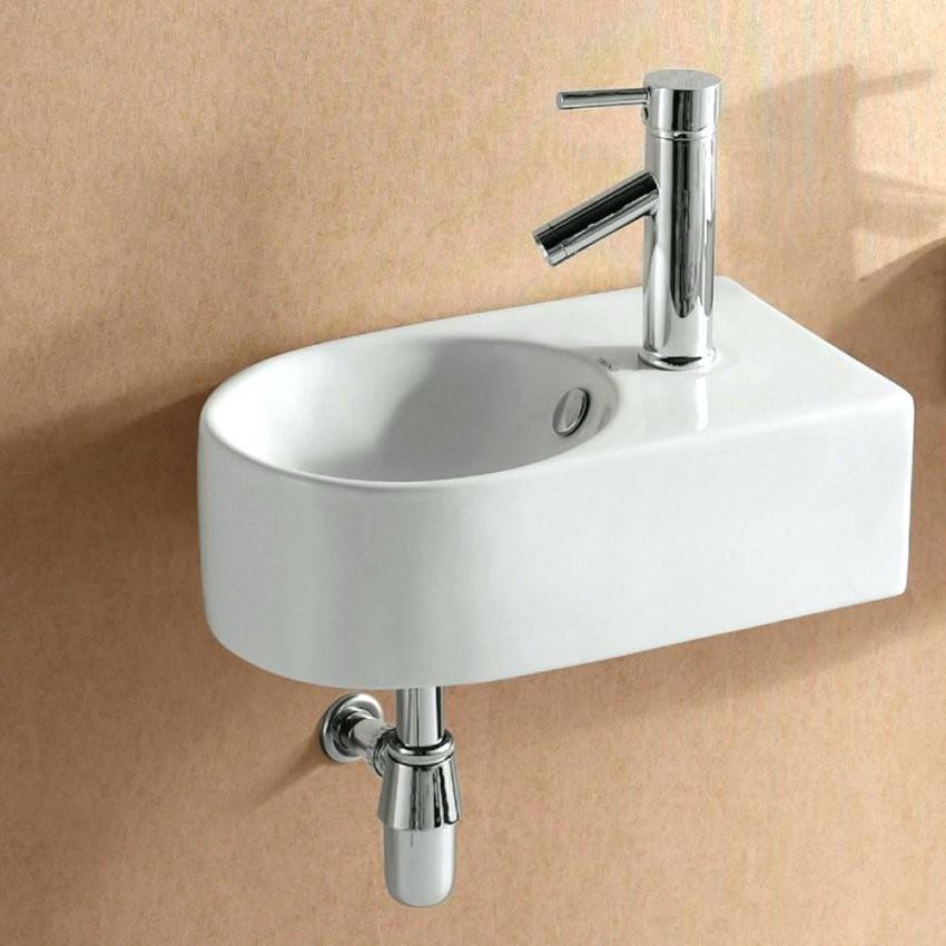 Wc Waschtisch Design Waschbecken V15 Handwaschbecken Keramik von Armatur Für Kleines Waschbecken Bild