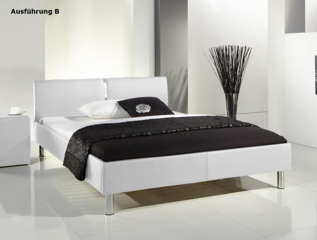 Weißes Bett 140X200 Überraschend Auf Kreative Deko Ideen Oder von Bett 140X200 Weiß Kunstleder Bild